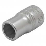 "Socket, 1/4"" Whitworth 1/2"" Square Drive"