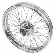 """Wire Wheel, chrome, 19"""" x 2.5"""", 48 spoke"""