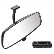 Mirror, rear view, plastic