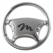 Key Fob, steering wheel, M logo, metal