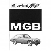 Owners Handbook, MGB Rubber Bumper, Special Tuning