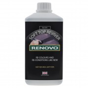 Renovo Soft Top Reviver, Black, 1 litre