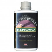 Renovo Soft Top Reviver, Black, 500ml