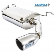 Silencer, exhaust, Cobalt, single exit, stainless steel
