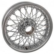 """Wire Wheel, chrome, 15"""" x 4.5"""", 60 spoke"""