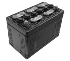 Battery, 12 volt, 65 A/hr, dry, negative earth