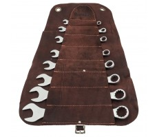 Leather Tool Roll Spanner Sets