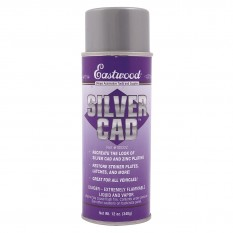 Silver Cad Paint Effect, 12oz Aerosol 355ml