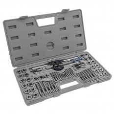 Tap & Die Set, SAE and Metric, Eastwood, 60 piece