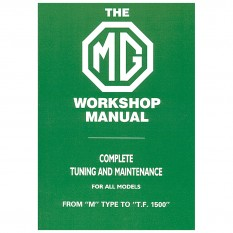 Workshop Manual, MG M-TF