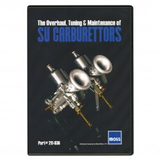 Carburettor Rebuild DVD For SU Carburettors