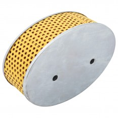 Element, air filter, oval