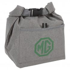 Cool Bag, grey, insulated, MG logo