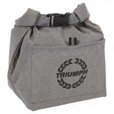 Cool Bag, grey, insulated, TR wreath logo