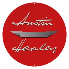 Round Austin-Healey Sign