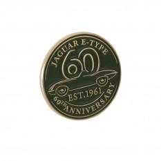 Commemorative Pin, E-Type 60th anniversary