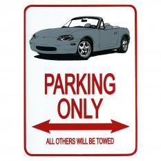 Parking Signs - MX-5 Mk2