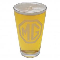 Beer Glass Set, MG logo, set of 4