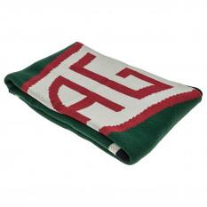 Knit Blanket, Jaguar diamond logo