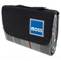 Picnic Blanket, waterproof, Moss logo