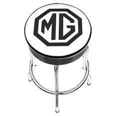 Bar Stool, MG logo