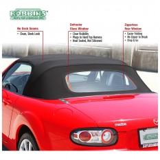 Hood, Streamline Vinyl, defroster glass window, tan