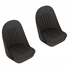 Seat Cover Sets: Front - BN4 from (c)68959, BN6-BJ7