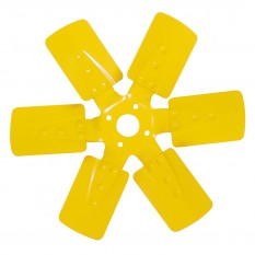 Fan, cooling, 6 blade, metal