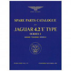 Parts Manual, Deluxe Edition, E-Type [Series I] 4.2