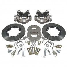 Brake Conversion Kit, rear, converts to discs and calipers brand