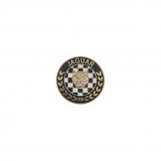 Lapel Pin, Jaguar, Cloisonne
