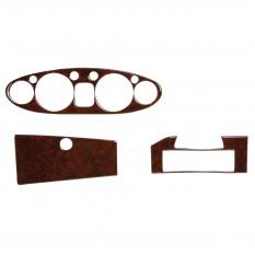 Burlwood Look Dashboard Kits - MGB USA Spec