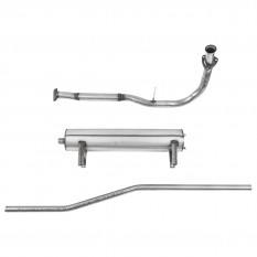Exhaust System, Falcon, stainless steel