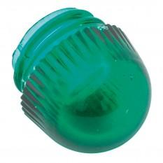 Lens, warning lamp, stalk end, green