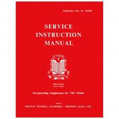 Workshop Manual, TR2-3A