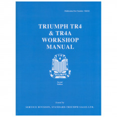 Workshop Manual, TR4-4A