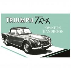 Owners Handbook, TR4