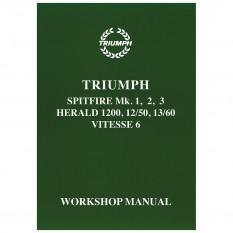 Workshop Manual, Spitfire/Vitesse/Herald