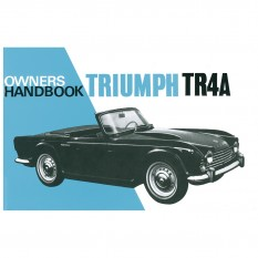 Owners Handbook, TR4A