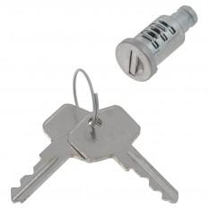 Lock Barrel & Key, single