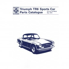 Parts Catalogue, TR6 1969-73