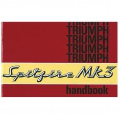 Owners Handbook, Spitfire MkIII