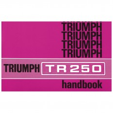 Owners Handbook, TR250