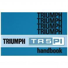 Owners Handbook, TR5