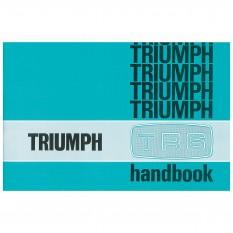 Owners Handbook, TR6 CP Models