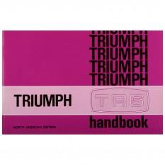 Owners Handbook, TR6 CF 1975 Models