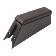 Armrest Console, with power jacks, black