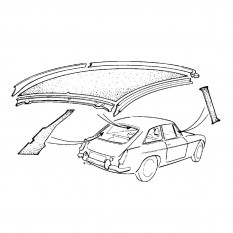 Headlining Kits - MGB GT
