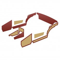 Interior Trim Kits - Midget MkI 948cc (1961-62)