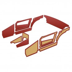 Interior Trim Kits - Sprite MkII 1098cc (1962-64)